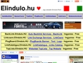 Elinduló Pont HU - Elindulo.hu - Egy sokadik elinduló oldal