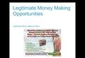 Legitimate Money Making Opportunities Ideas Opportunities Online
