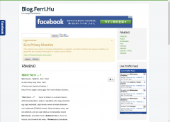 Ferri.hu - A page is not just for my friends ... - All kind of interesting things - Checkthis out!